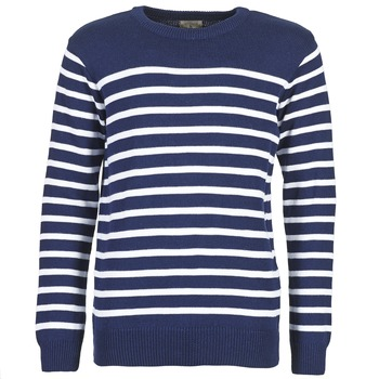 material Men jumpers Casual Attitude FARCIELLE MARINE / White