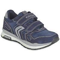 Shoes Girl Low top trainers Geox J PAVEL Blue