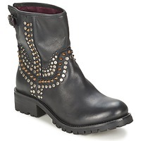 Shoes Women Mid boots Ikks SEATTLE-PREMIUM Black