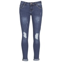 material Women slim jeans Yurban FOUNOLE Blue / Medium