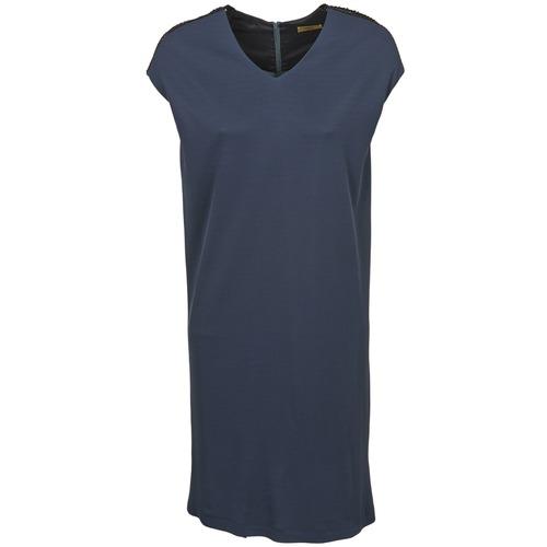 material Women Short Dresses Lola RUPTURE TYPHON Anthracite
