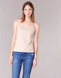 material Women Tops / Sleeveless T-shirts BOTD FAGALOTTE Beige