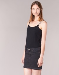 material Women Tops / Sleeveless T-shirts BOTD FAGALOTTE Black