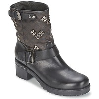 Shoes Women Mid boots Janet Sport ZEDINE Black