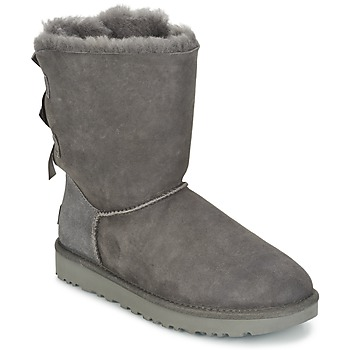 Shoes Women Mid boots UGG BAILEY BOW II Grey