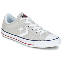 Shoes Low top trainers Converse STAR PLAYER CORE CANVAS OX Grey / Clear / White