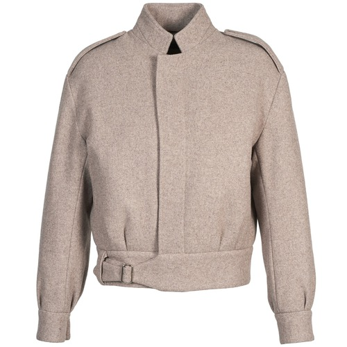 material Women Jackets / Blazers Antik Batik MAX BEIGE