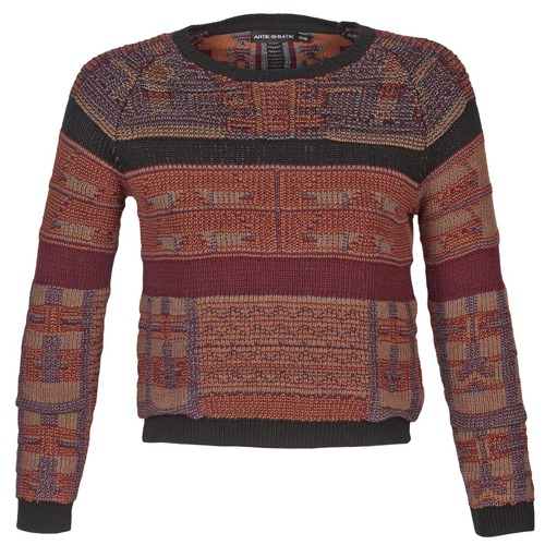 material Women jumpers Antik Batik AMIE Rust