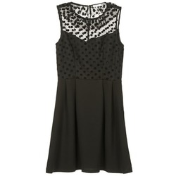 material Women Short Dresses Brigitte Bardot BB45057 Black