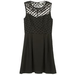 material Women Short Dresses Brigitte Bardot BB45057 Black