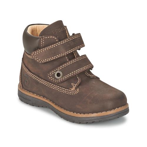 Shoes Boy Mid boots Primigi ASPY 1 Brown