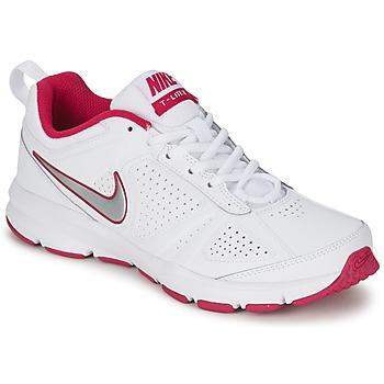 Shoes Women Multisport shoes Nike T-LITE XI White / Pink