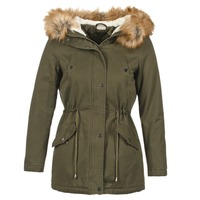 material Women Parkas Moony Mood HADDY Kaki