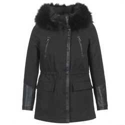material Women Parkas Moony Mood FOUINI Black