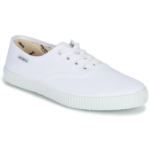 Shoes Low top trainers Victoria INGLESA LONA White