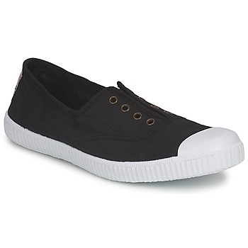 Shoes Women Low top trainers Victoria 6623 Black
