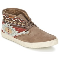 Shoes Women High top trainers Victoria SAFARI TEJIDOS ETNICOS TAUPE