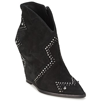 Ankle boots / Boots Ash JESSICA Black 350x350