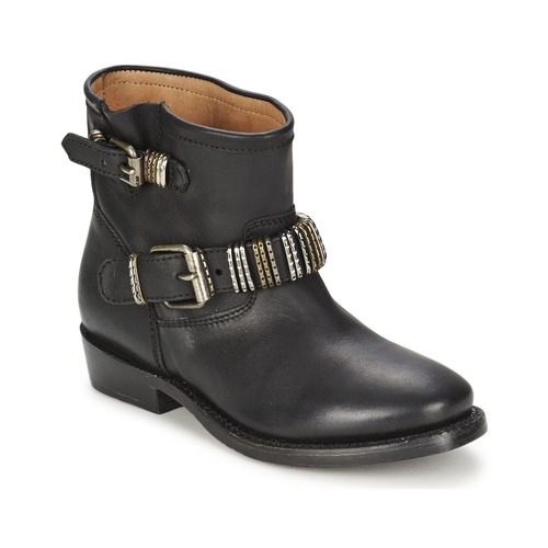 Shoes Women Mid boots Ash VICK Black