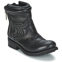 Shoes Women Mid boots Ash TEXAS Black