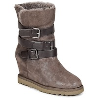 Shoes Women Ankle boots Ash YES Taupe