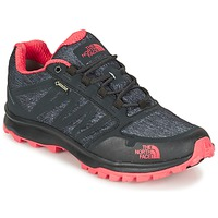 Shoes Women Hiking shoes The North Face LITEWAVE FASTPACK GORETEX Black / CORAL