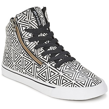 Shoes Women High top trainers Supra CUTTLER White / Black