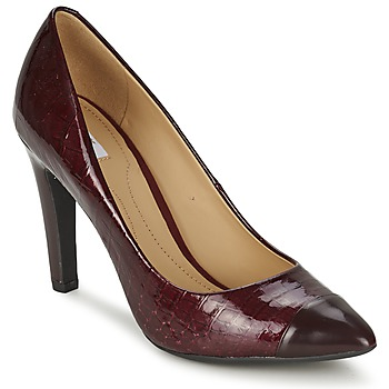 Shoes Women Court shoes Geox CAROLINE BORDEAUX