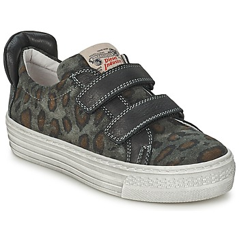 Shoes Children Low top trainers Diesel JERMAN Grey / Leopard