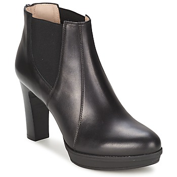 Ankle boots / Boots Unisa MIJAL Black 350x350