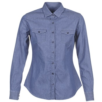 material Women Shirts Yurban FERVINE Blue