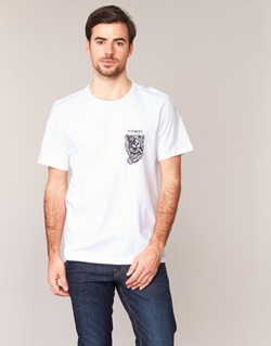 material Men short-sleeved t-shirts Element ATTACK SS White