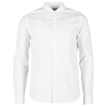 material Men long-sleeved shirts Calvin Klein Jeans WILBERT White