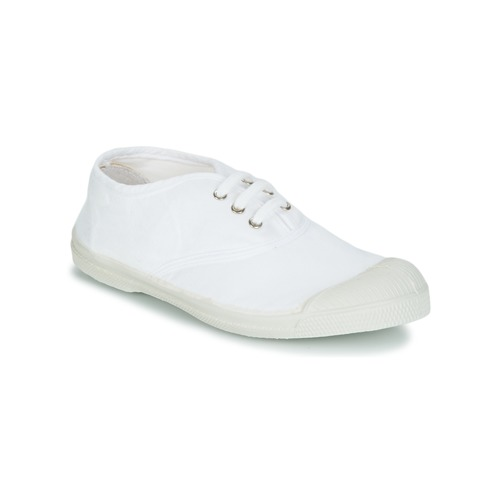 Shoes Children Low top trainers Bensimon TENNIS LACET White