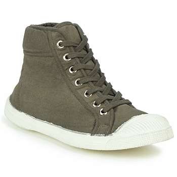 Shoes High top trainers Bensimon TENNIS MID Taupe