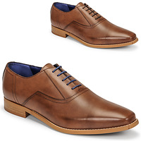 Shoes Men Brogue shoes Azzaro ACTAR Brown