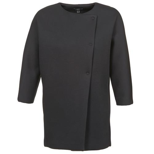 material Women coats Mexx 6BHTJ003 Black