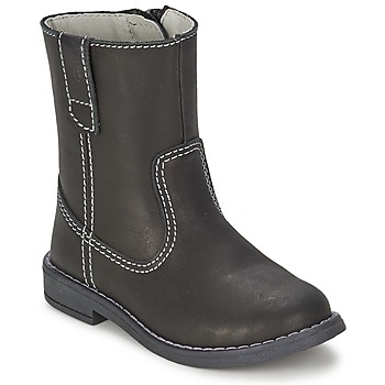 Shoes Boy Boots Citrouille et Compagnie EMALI Black