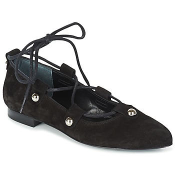Shoes Women Ballerinas Sonia Rykiel 622107 Black