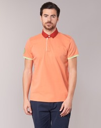 material Men short-sleeved polo shirts Serge Blanco PRC1256 CORAL