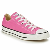 Shoes Women Low top trainers Converse All Star OX Pink