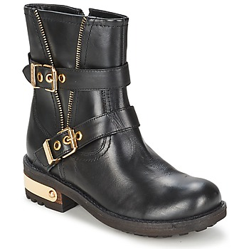Shoes Women Mid boots Elle RASPAIL Black