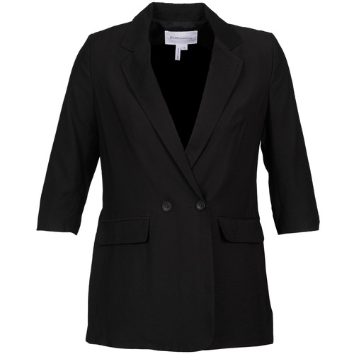 material Women Jackets / Blazers BCBGeneration ISABEL Black
