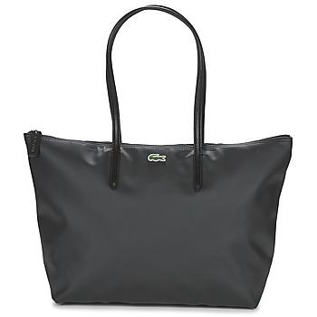 Bags Women Shopper bags Lacoste L.12.12 CONCEPT L Black