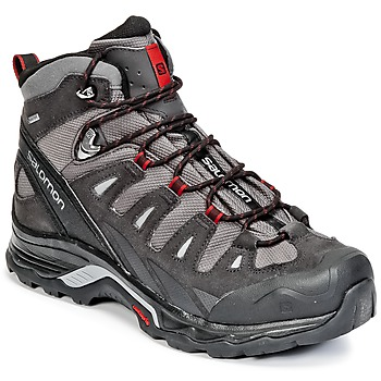 Shoes Men Hiking shoes Salomon QUEST PRIME GTX® Grey / Black / Red