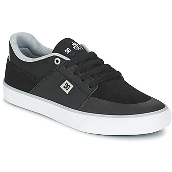 Shoes Men Low top trainers DC Shoes WES KREMER M SHOE XKSW Black / Grey / White