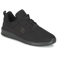 Shoes Men Low top trainers DC Shoes HEATHROW M SHOE 3BK Black