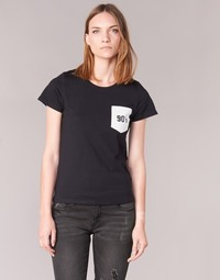 material Women short-sleeved t-shirts Yurban FIALA Black