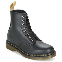 Shoes Mid boots Dr Martens VEGAN 1460 Black