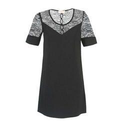 material Women Short Dresses Moony Mood FUFU Black